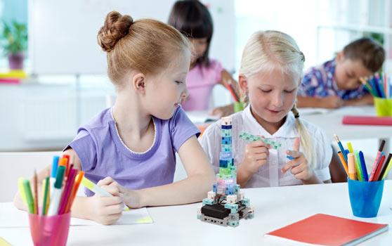 apprendre la robotique en primaire